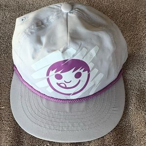 NEFF smiley face graphic SnapBack NEW